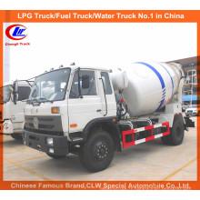 Camion de mélangeur de ciment de Dongfeng 8cbm / camion de transport de mélange concret