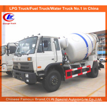 Dongfeng 8cbm Cement Mixer Truck / Concrete Mixing Transport Truck