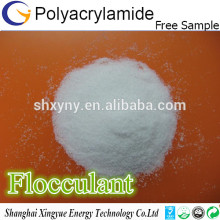 Polyacrylamide powder anionic flocculant/cation flocculant