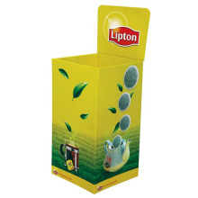 Cardboard Retail Dump Bin Displays for Lipton