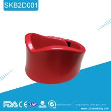 SKB2D001 Médical Collar cervical en plastique dur soutien de cou fixe