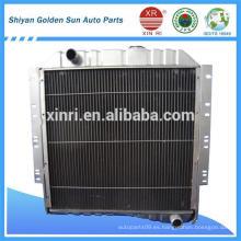 Dongfeng resistente camiones radiador 1301D2C-010 de la fábrica de Shiyan