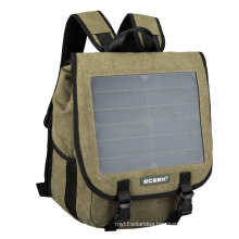 Charge backpack solar outdoor backpack 10W6V charging the mobile phone and pad wholesales bag