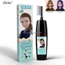 hair color comb shampoo