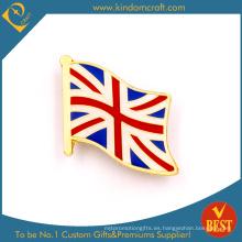 Bandera del Reino Unido Badge como recuerdo en el precio bajo