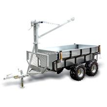 ATV Лесовоз с краном на продажу