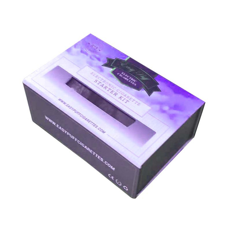 The smart electronic cigarette clamshell gift box
