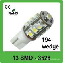T10 501 194 W5W 3528 SMD led automobile bulbs