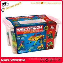 Brinquedos magnéticos do presente das crianças para a criança 123PCS