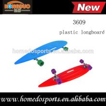 36-дюймовый пластиковый лонгборд скейтборд с ПУ колеса