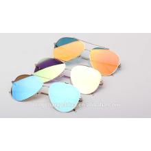 2016 nuevos modelos moda metal gafas de sol