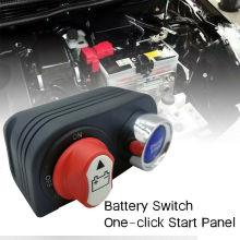 Panneau de commutateur de démarrage de moteur de commutateur d'isolateur de batterie 50A