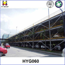 prefabricated steel structure car parking lots