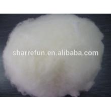Laine d'agneau chinois super fin, laine d'agneau épilée et cardée