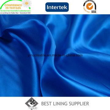 100% Men′s cetim de poliéster dois tons terno forro de tecido
