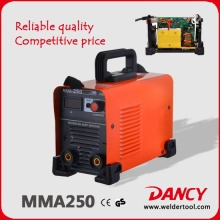 Accueil Usage MMA 250 ampères convertisseur continu-alternatif Machine à souder