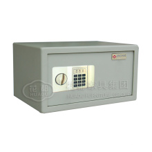 China mini safes manufacturer smart hotel safe deposit box with key lock