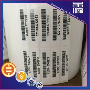 Printing Barcode Security Label Seal