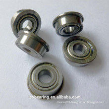 High speed stainless steel flanged ball bearing 5x10x4