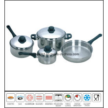 T304 Greaseless Stainless Steel Cookware