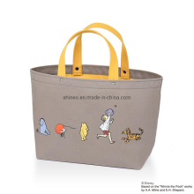 Summer Canvas Bag Handbags Logo Large Capacity Foldable Tote Bag New Trend Youth Simple Bag for Women Luxury