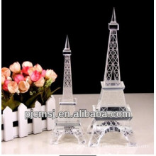 Best Selling Fashion Crystal Effiel Tower Building For Collections