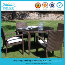 Hot Sale Rattan Outdoor Beer Furniture Table and Chairs Set
