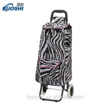 compras bolso de carro de la caja plegable con silla