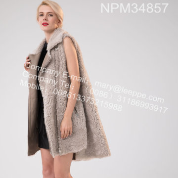 Vinter Lady Icelandic Lamb Fur Gilet