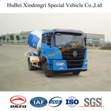 Caminhão de mistura Euro4 do petroleiro concreto do caminhão da bomba do cimento de 4cbm Dongfeng