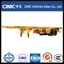 40ft Cimc Skeletal Semi Remolque en venta en es.dhgate.com