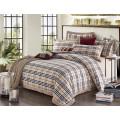 2016 Textil 100% algodón / poli juego de cama de alta calidad para el hotel / hogar