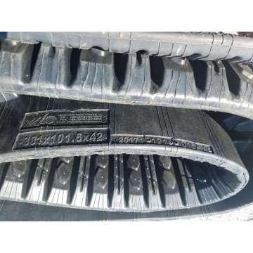 CAT257B rubber track 381 101.6 42