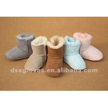 Детская обувь из овчины зима