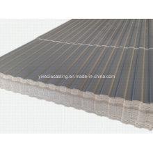 Revêtement ondulé de mur de PVC de corrosion (YX8-76-1130)