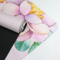 MELORS Hot Selling Printed Professional suede Yoga Mat