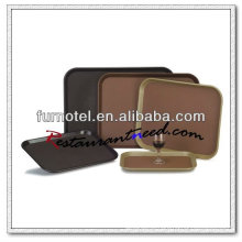 P136 High Quality PC Oblong Anti Skid Tray