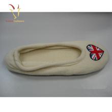 Nouveau Design Cachemire Chaussures Pieds Chaud Cachemire Pantoufles