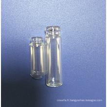 5ml en verre tubulaire ambre flacon pour l'emballage de parfum