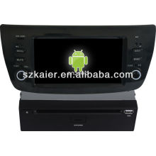 Android System car dvd player for Fiat Doblo with GPS,Bluetooth,3G,ipod,Games,Dual Zone,Steering Wheel Control