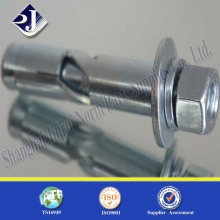 Grade4.8zinc Plated Fastener Anchor Foundation Schraube