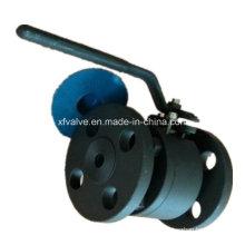 ANSI 150lb Válvula de bola de extremo de conexión de brida de acero forjado A105