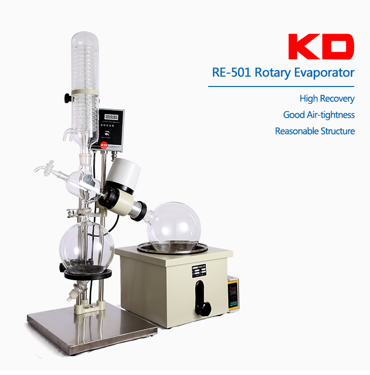 Pilot Scale 5L Rotary Evaporator and glass reactor