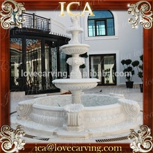 Outdoor garden hand carved marble water fountain sale