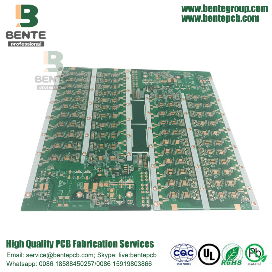Ultieme Oversize Board 4 Layer High TG PCB