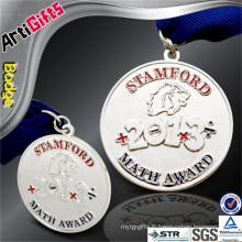 Médailles et écussons de tasse de sport de conception faite sur commande