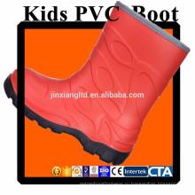 JX-916O цветной ПВХ детей дождь сапоги & резиновые сапоги дождь для детей