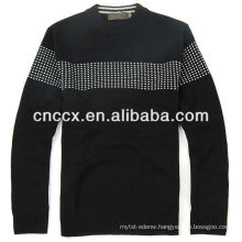 13STC5595 latest design fashion crewneck sweaters for men cheap