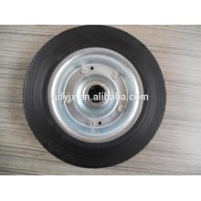 Neumáticos sólidos de 8 pulgadas, rueda de goma sólida para carros de herramientas