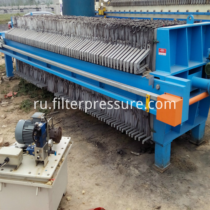Pharmacy Stainless Steel Filter Press 8